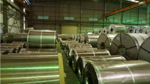 Coated Steel Sheet and Coils (Bj.LAS)